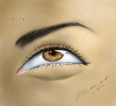Eye | James_Maynard | Digital Drawing | PENUP