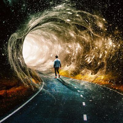 Tunnel  | pilou | Digital Drawing | PENUP