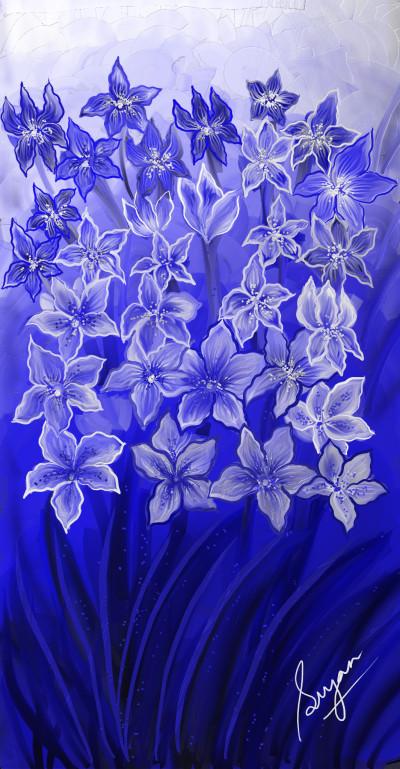 Cobalt Blue | Sugan | Digital Drawing | PENUP