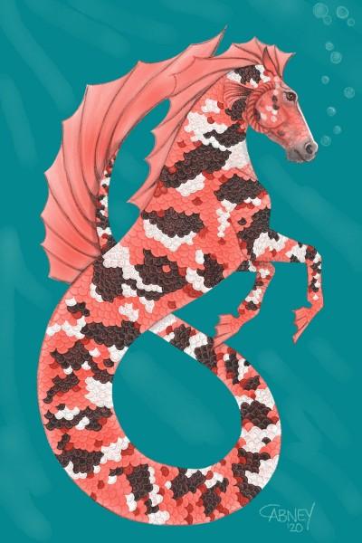 Koi Hippocampus II   shadowmare72   Digital Drawing   PENUP