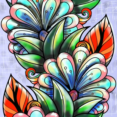 pattern | AZR | Digital Drawing | PENUP
