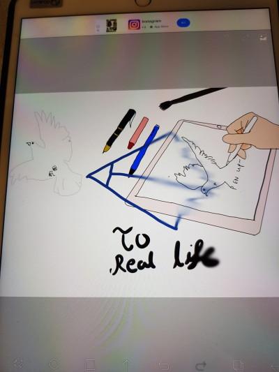 penup to life | DaEun | Digital Drawing | PENUP