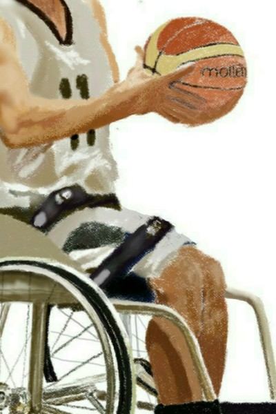 Wheelchair basketball t-shirt ideas  | les | Digital Drawing | PENUP