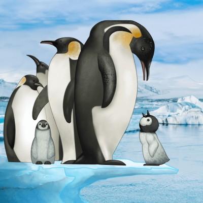 ペンギン | Gaycouple | Digital Drawing | PENUP