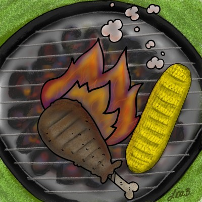 BBQ Lunch | LisaBme | Digital Drawing | PENUP