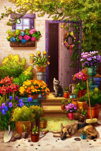 Lovely plants  | Chris | Digital Drawing | PENUP