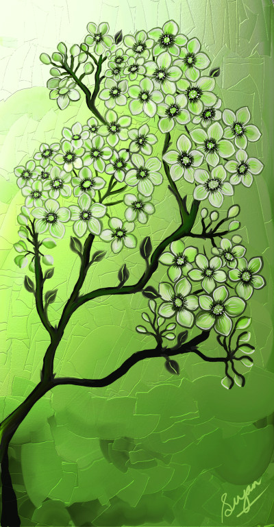Leaf Green   Sugan   Digital Drawing   PENUP