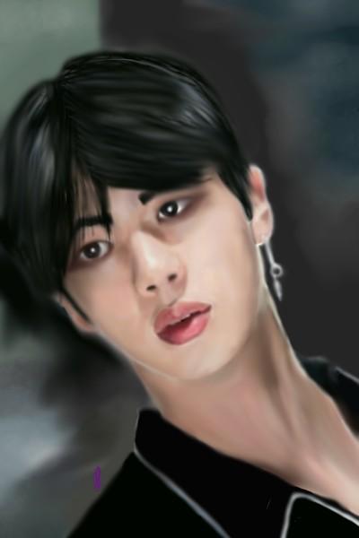 Jin BTS | Rebecca | Digital Drawing | PENUP
