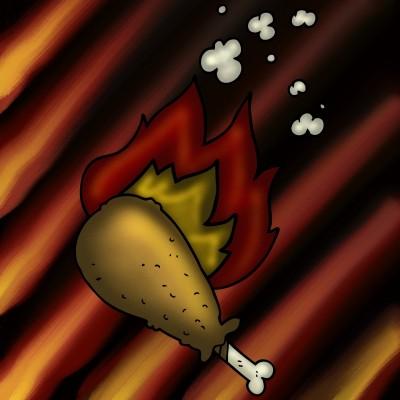 Hot Chicken | JammyC | Digital Drawing | PENUP