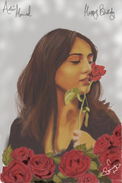 Rose | SamTaqvi | Digital Drawing | PENUP