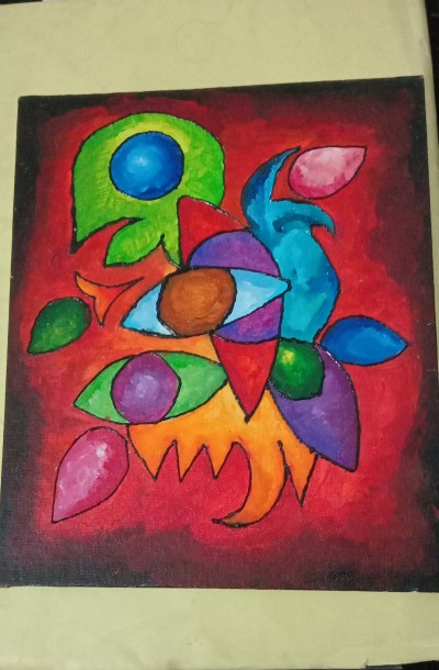 its upside down of my first canvas painting   sofiya0502   Digital Drawing   PENUP