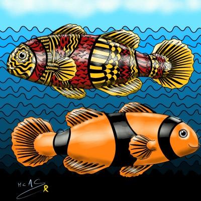 Peixos  | Carme | Digital Drawing | PENUP