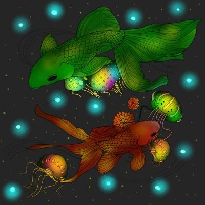 Coloring Digital Drawing   nosa   PENUP