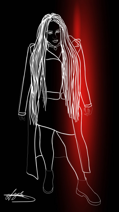 Portrait Digital Drawing | AngelaPezzotti | PENUP