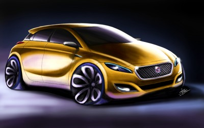 Jaguar Concept | FirstNote4 | Digital Drawing | PENUP