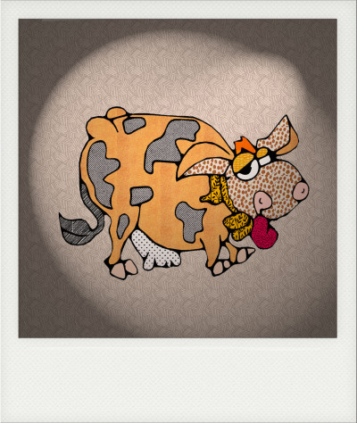 Cow | deser | Digital Drawing | PENUP