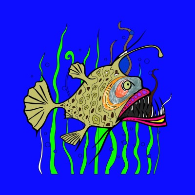lindo pecesito   identifas   Digital Drawing   PENUP