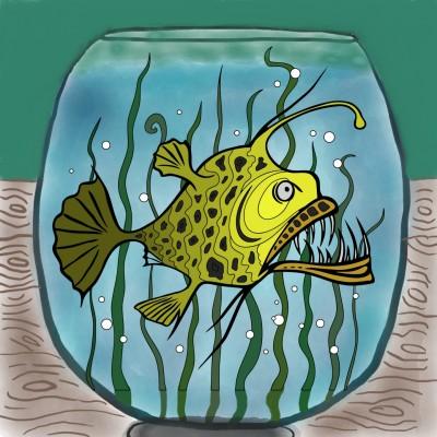 Goldfish | iamth3joker | Digital Drawing | PENUP