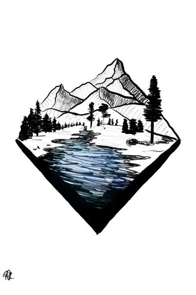 Small river♡♡ | ppannk_7 | Digital Drawing | PENUP