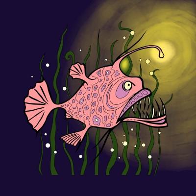 Fish | Gaji | Digital Drawing | PENUP