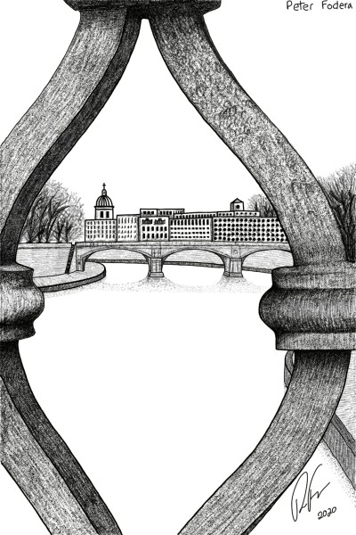 Looking Through Railings | Peter_Fodera | Digital Drawing | PENUP