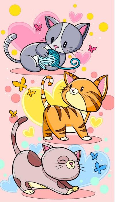 cats, cats, cats | Chris | Digital Drawing | PENUP