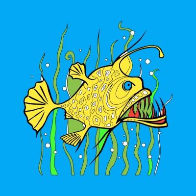 I swim.  | loantran | Digital Drawing | PENUP