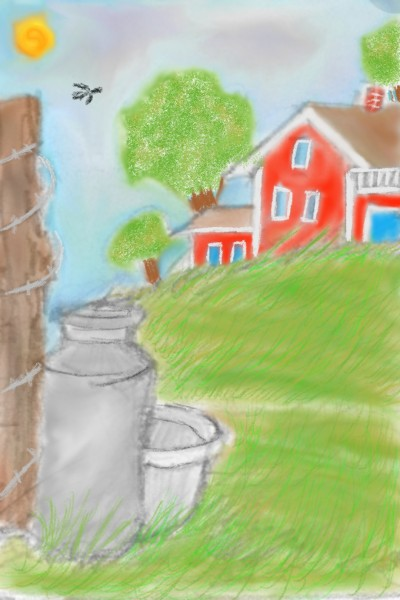 farm life | Blaze | Digital Drawing | PENUP