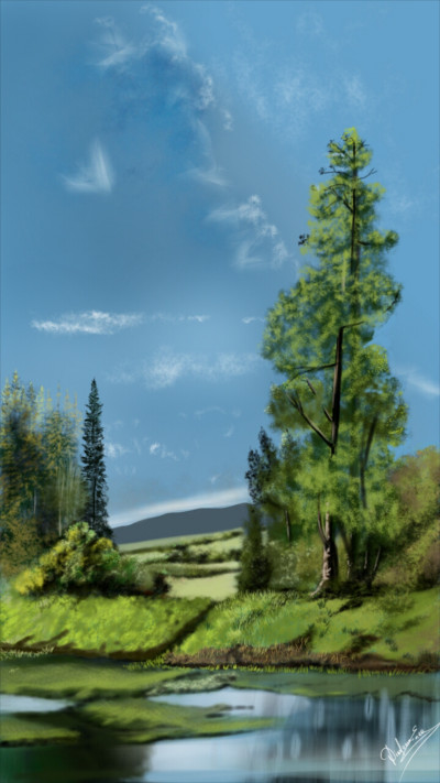 Beautiful nature | Abex | Digital Drawing | PENUP