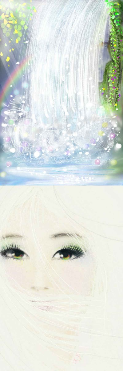 Hair 1 and 2 | Nokhong | Digital Drawing | PENUP