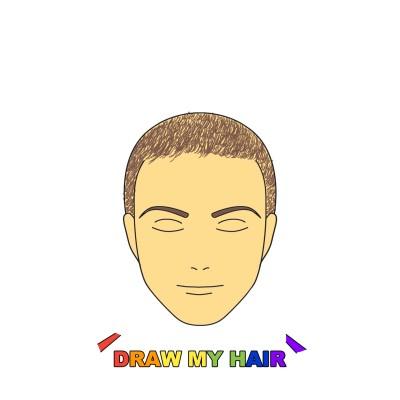 """Draw my hair"" | Barrios4 | Digital Drawing | PENUP"