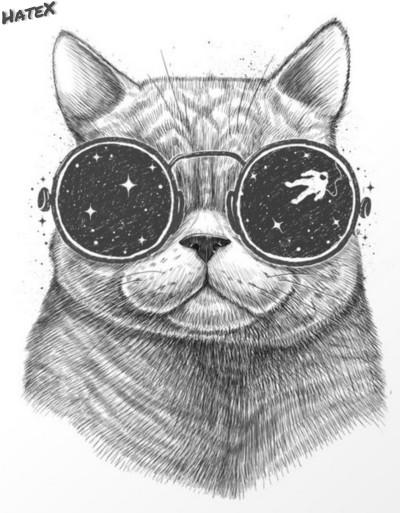 Space Cat | HateX | Digital Drawing | PENUP