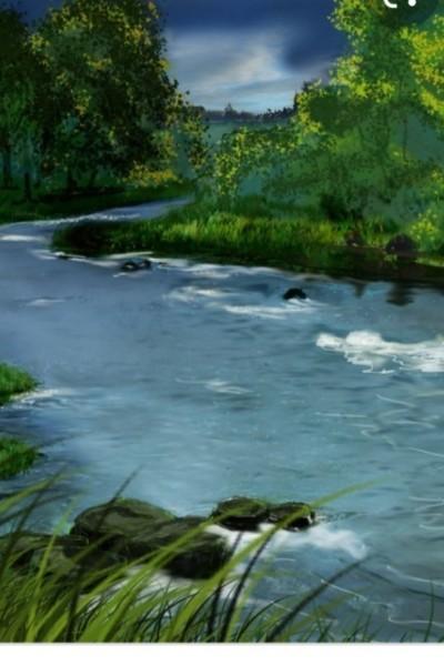 River bend   nini   Digital Drawing   PENUP