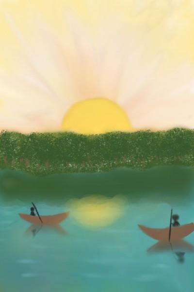 blooming river | SanaMisba | Digital Drawing | PENUP