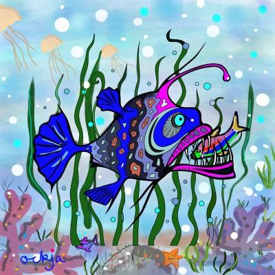A deep- sea story♡ | ockja | Digital Drawing | PENUP
