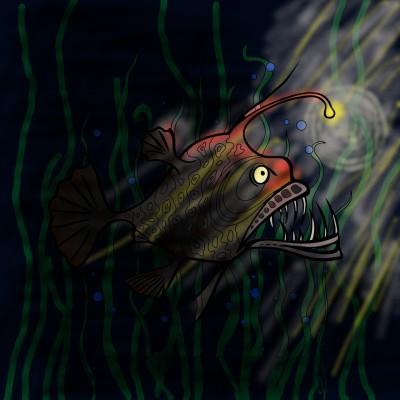 just keep swimming  | mwb70 | Digital Drawing | PENUP