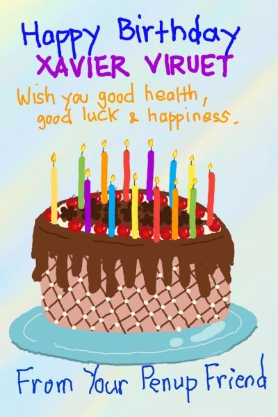 Happy Birthday | Diana | Digital Drawing | PENUP