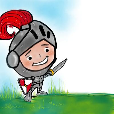 The brave little knight  | kitt | Digital Drawing | PENUP