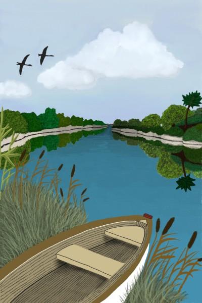 Landscape Digital Drawing | srudolfi | PENUP