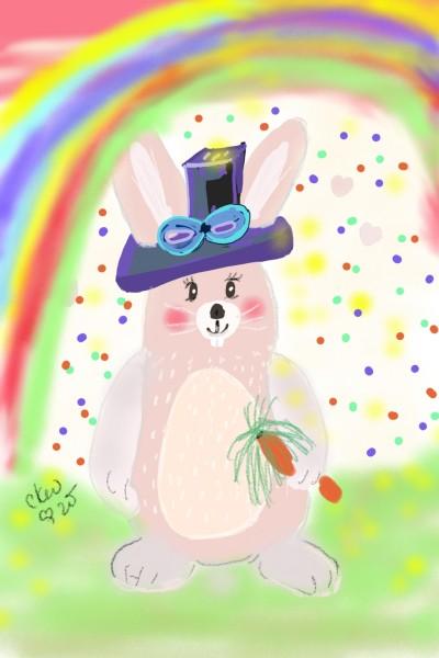 Happy  | Daisy-C.K.W. | Digital Drawing | PENUP
