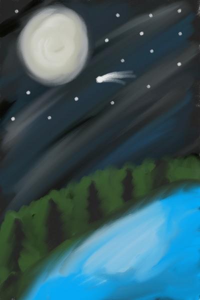 River Nights | Mamamia92 | Digital Drawing | PENUP