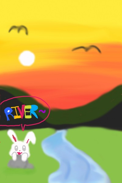 RIVER~ | Zveerin | Digital Drawing | PENUP