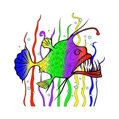 Fish | 123 | Digital Drawing | PENUP