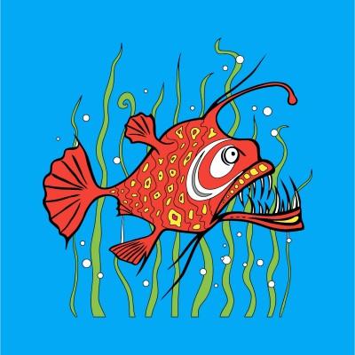 Cá mặt quỷ | hihi | Digital Drawing | PENUP