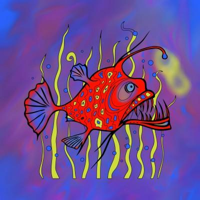 Coloring Digital Drawing | DAPHNIE | PENUP