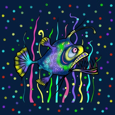 Fish   vaniaania   Digital Drawing   PENUP
