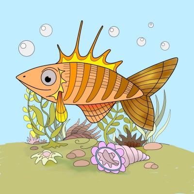Sea life | jrellis007 | Digital Drawing | PENUP