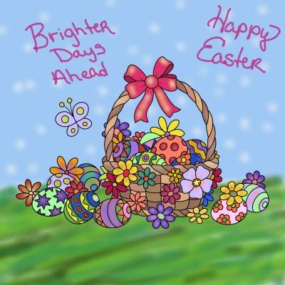 Happy Easter Penup | Emily | Digital Drawing | PENUP