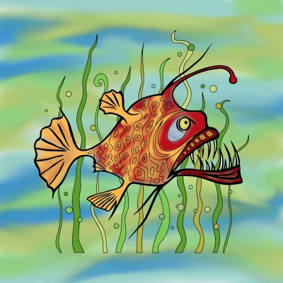 Dangerous fish | Sabinche | Digital Drawing | PENUP