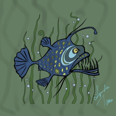 Deep Sea Monster | Lynda | Digital Drawing | PENUP